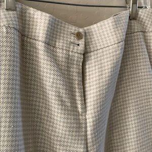 Talbots silk blend dress pant sz 12